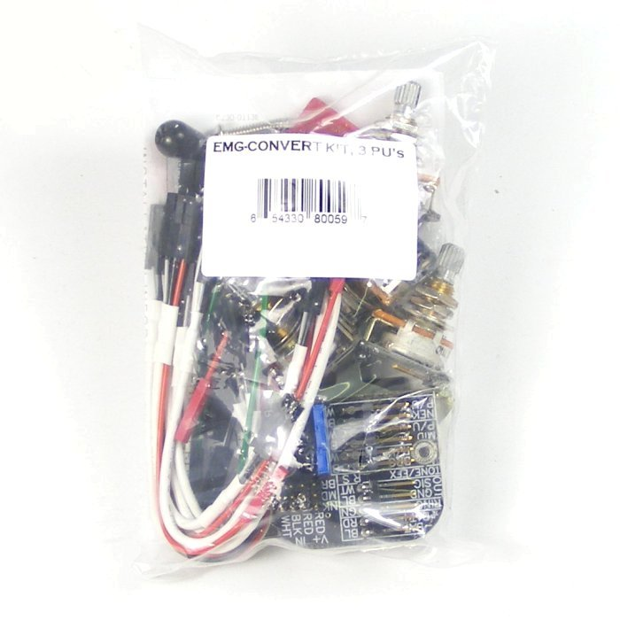 emg 3 pickup stratocaster style complete active wiring kit solderless ebay. Black Bedroom Furniture Sets. Home Design Ideas